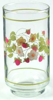 Corning Strawberry Sundae 12 Oz Glassware Tumbler, Fine China Dinnerware   Corel