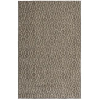 Diamonds Natural Sisal Wool Rug (5 X 8)