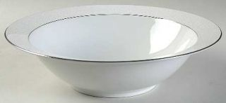 Majestic (Japan) Plymouth 10 Round Vegetable Bowl, Fine China Dinnerware   Whit