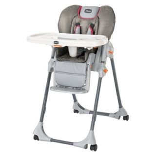 Chicco Polly Double Pad High Chair   Foxy Pink