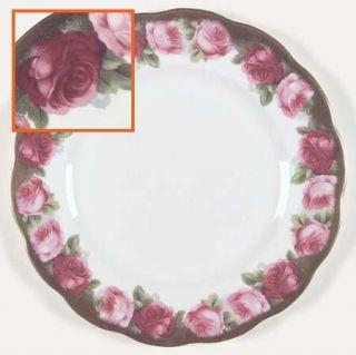 Royal Albert Mothers Day Dinner Plate, Fine China Dinnerware   Bone,Pink Roses,G