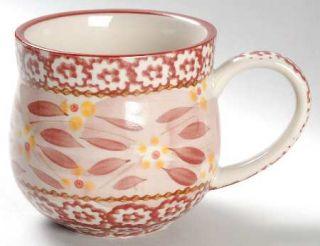 Temp Tations Old World Cranberry Mug, Fine China Dinnerware   Cranberry Sponge B