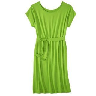Merona Womens Knit Belted Dress   Zuna Green   XS