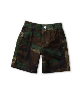 Quiksilver Kids Wombat Amphibian Short Boys Swimwear (Olive)