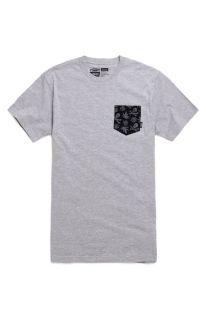 Mens Vans Tee   Vans Skull Leaf Pocket T Shirt